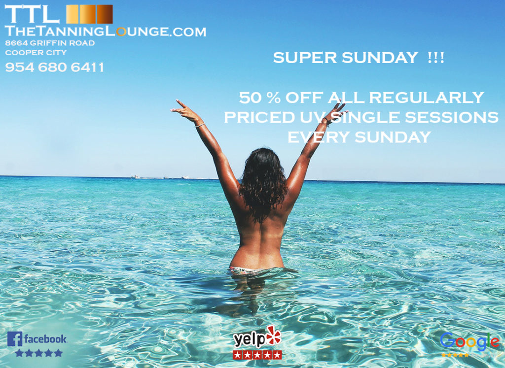 UV SESSIONS EVERY-SUNDAY-THE-TANNING-LOUNGE