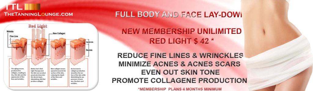 Red Light Therapy Tanning Salon Spray Tan Teeth